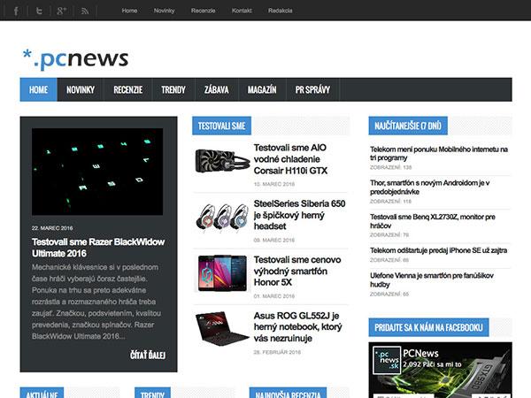 Internetový informačný porál *.pc_news