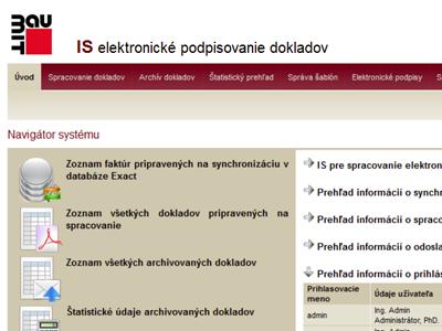 Generovanie a podpisovanie PDF dokumentov
