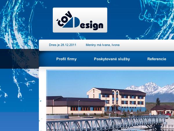 Webové stránky Čovdesign