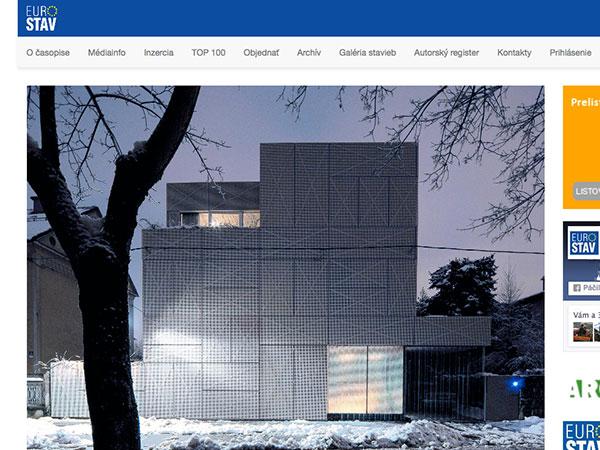 Nové web stránky časopisu Eurostav