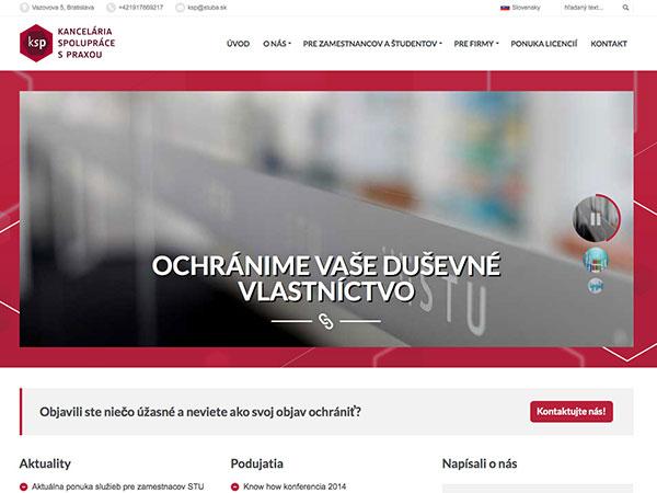 Internetový portál KSP STU