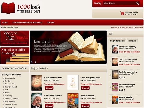 Internetový obchod 1000knih